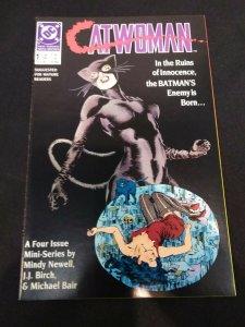 Catwoman #1 of 4 1989 MINI-SERIES MATURE READERS