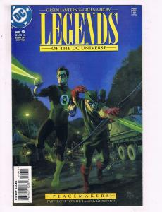 Green Lantern & Green Arrow Legends Of The DC Universe #9 VF DC Comic Book DE10