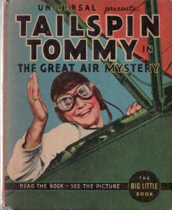 TAILSPIN TOMMY IN THE GREAT AIR MYSTERY-BIG LITTLE BOOK VF-