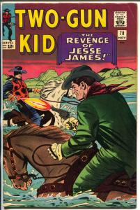 Two-Gun Kid  #78 1965-Marvel-Jesse James-Stan Lee-Dick Ayers-VF-