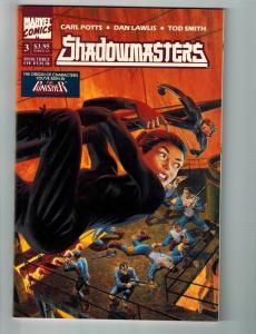 Shadowmasters # 3 NM Marvel Prestige Format Comic Book Carl Potts Punisher S77