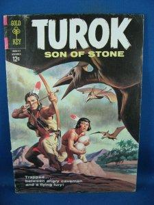 TUROK 36 VG F DINOSAUR COVER 1963
