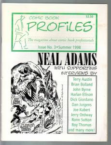 Comic Book Profiles #3 1998-Neal Adams issue-VF