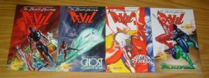 Death-Defying Devil #1-4 VF/NM complete series - all alex ross covers  daredevil