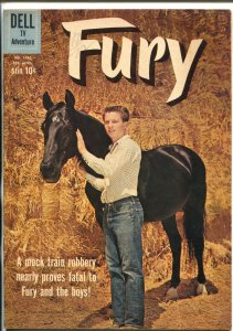 Fury-Four Color Comics #1080 1960-Dell-Bobby Diamond TV series photo cover-FN-