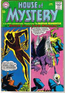 HOUSE OF MYSTERY #151, VG+, J'onn J'onzz, Doom, Monster, more HOM in store