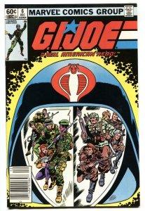 G.I. JOE #6 1982- Marvel Comics comic book-Newsstand