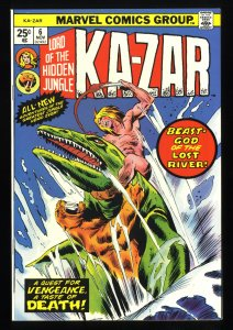 Ka-Zar #6 NM+ 9.6 Tongie Farm Collection