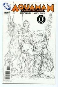 Aquaman Sword of Atlantis 40 May 2006 NM- (9.2) (2nd printing)