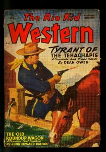 The Rio Kid Western August 1949- Thrilling Pulp-Louis L'Amour G