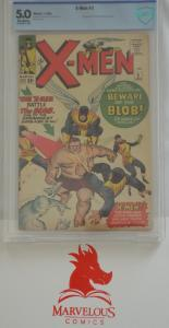 X-Men #3 - CBCS 5.0 - KEY - First Appearance of Blob!