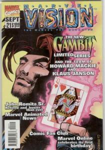 Marvel Vision #21 VF/NM; Marvel   save on shipping - details inside