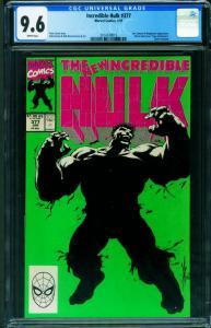 INCREDIBLE HULK #377 CGC 9.6 1st Professor Hulk-Marvel 2014539015