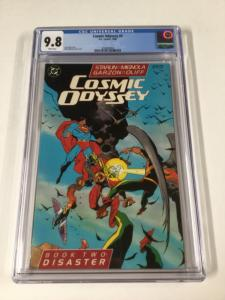 Cosmic Odyssey 2 Cgc 9.8 White Pages Dc