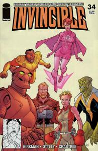 Invincible #34 VF; Image | save on shipping - details inside