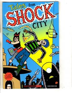 Tales From Shock City 2001 Fantagraphics Books Beto Cover Mario Hernandez TD6