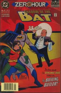 DC BATMAN: SHADOW OF THE BAT #31 FN