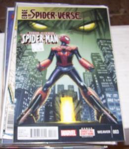 edge of Spider-verse # 3 aaron aikman morlun