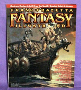 Larry Elmore FRANK FRAZETTA FANTASY ILLUSTRATED Magazine #2 (Summer, 1998)!