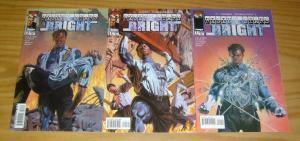 J. Michael Straczynski's Rising Stars: Bright #1-3 VF/NM complete series set lot