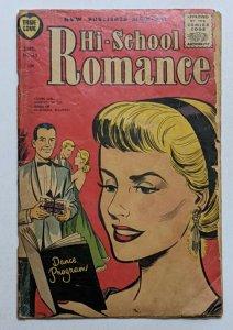 Hi-School Romance #43 (Sept 1955, Harvey) Good 2.0