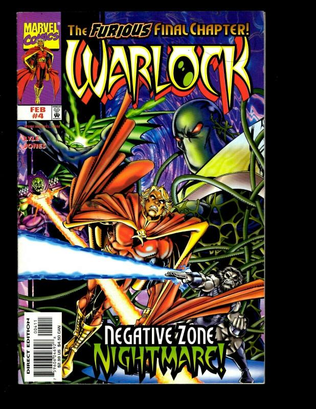 10 Comics Warlock And The Infinity Watch # 21 Warlock 1 2 3 6 7 8 9 +MORE EK10
