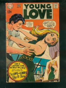 YOUNG LOVE #72 1969-DC ROMANCE VG