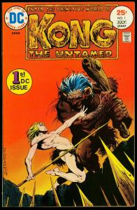 Kong the Untamed #1 1975- Berni Wrightson- DC Comics NM-