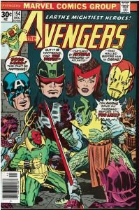 Avengers #154, 7.0 or Better *KEY* 1st Appearance of Tyrak