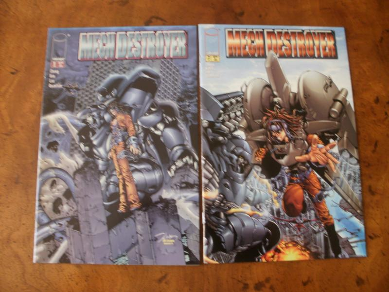 Mech Destroyer #1 #2 (image) 2001 Chong Kim Lee Quantum