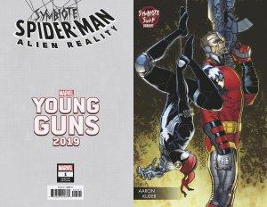 Symbiote Spider-Man Alien Reality #1 Kuder Young Guns Var (Marvel,2020) NM