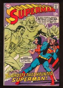 Superman (1939 series) #214, Fine+ (Actual scan)