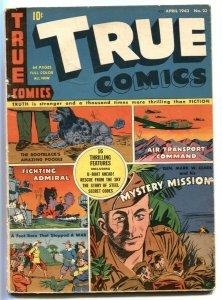 True Comics #23 1943- General Mark Clark- poodle cover VG+
