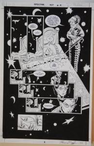 NORM BREYFOGLE / DENNIS JANKE original art, SPECTRE #27 pg 6, 11x17, 2003