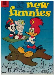 NEW FUNNIES 242 VG-F April 1957 COMICS BOOK