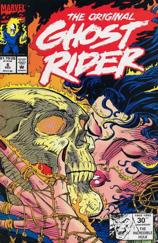 Original Ghost Rider, The #6 VF/NM; Marvel | save on shipping - details inside