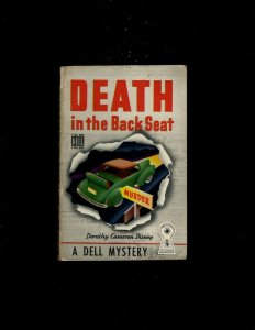 3 Pocket Books Death In The Back Seat, Murder-On-Hudson, Hero Driver JL6