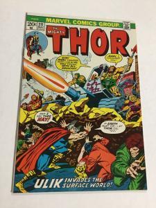 Thor 211 Nm- Near Mint- Marvel
