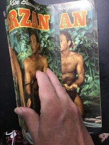 Tarzan #44 (1953) Mid-grade double cover key! Photo cover! FN+ Wow!