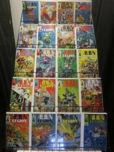 ALIEN LEGION (1984 EPIC) 1-20 The Complete 1st Series!