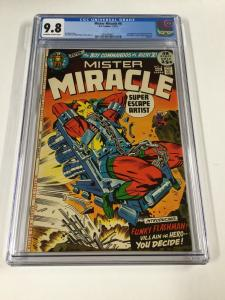 Mister Miracle 6 Cgc 9.8 Ow/w Pages 1st First Female Furies Dc Comics