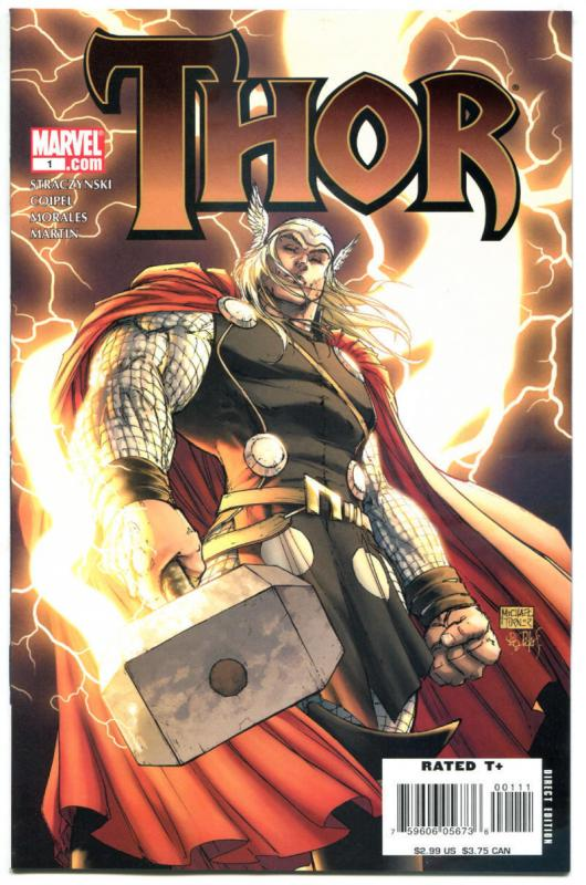 THOR #1 2 3 4 5 6 7 8 9 10 11 12, NM, Coipel, 2007, more Thor in store, 1-12, A
