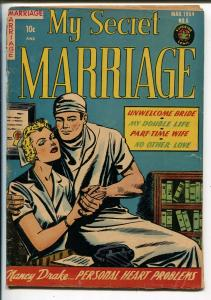 My Secret Marriage #6 1954-Superior-spicy cover-provocative interior poses-VG