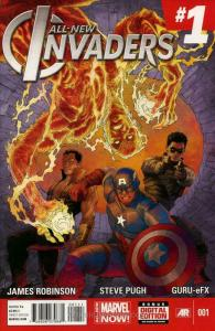 All-New Invaders #1 VF/NM; Marvel | save on shipping - details inside