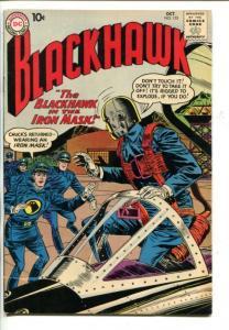 BLACKHAWK  #153-DC-1960-MAN IN IRON MASK-fn/vf