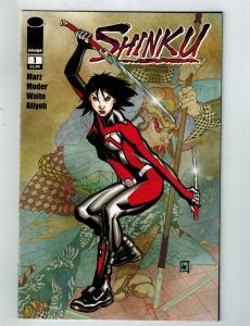 Shinku # 1 VF Image Comic Book Ron Marz Series Moder Waite Art Issue Modern S75