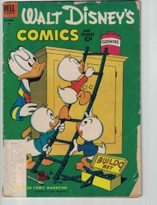 Walt Disney's Comics and Stories #147 subscription variant - donald duck - Dell