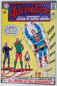 Adventure Comics #355 (1967)(newstamp)