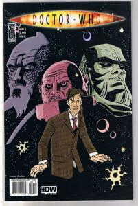 DOCTOR WHO #4 A, NM-, Paul Grist, Fugitive, Judoon, 2009, IDW, more DW in store