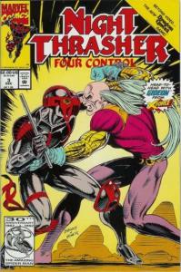 Night Thrasher: Four Control #3, NM (Stock photo)